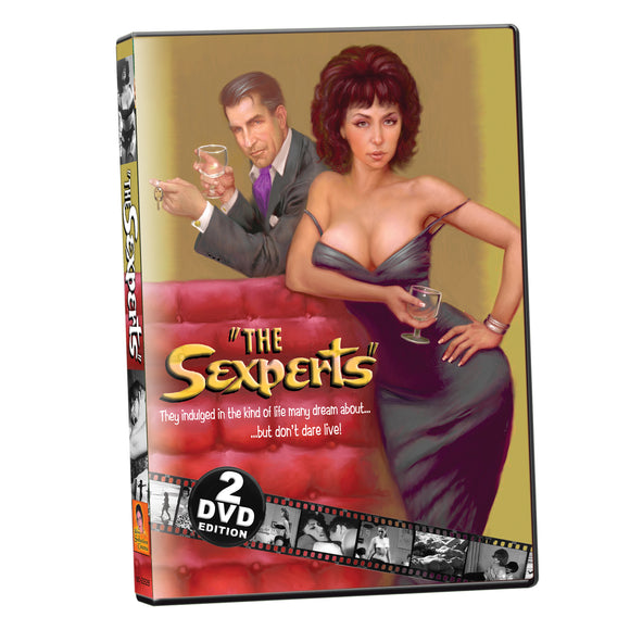 Sexperts / Naughty Nudes '65 (2-DVD)