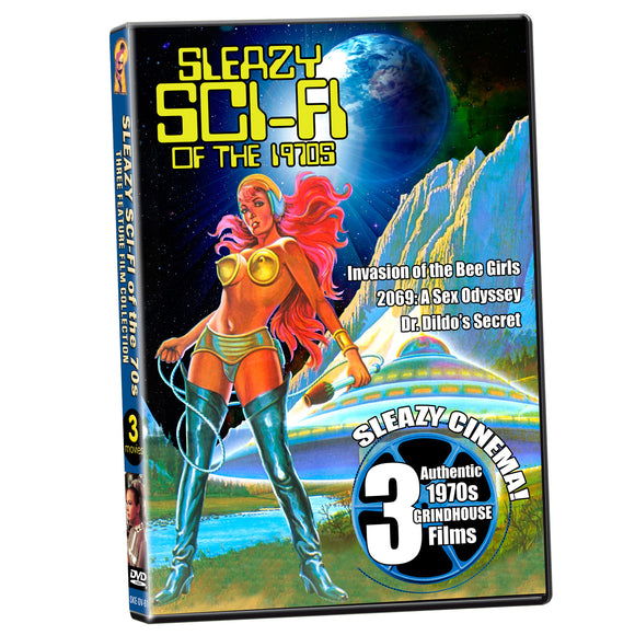 Sleazy Sci-Fi of the 1970s Triple Feature (DVD)