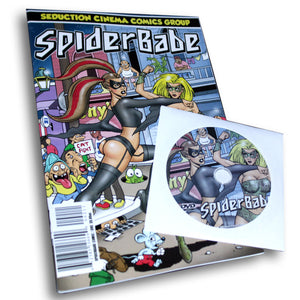 Spiderbabe (Comic Book / DVD Combo)