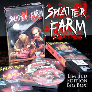 Splatter Farm Limited Edition BIG BOX VHS/DVD