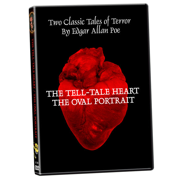 Edgar Allan Poe Double Feature: Tell-Tale Heart / The Oval Portrait (DVD)