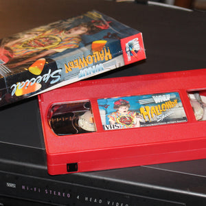 WNUF Halloween Special (Red Cassette Limited Edition VHS)
