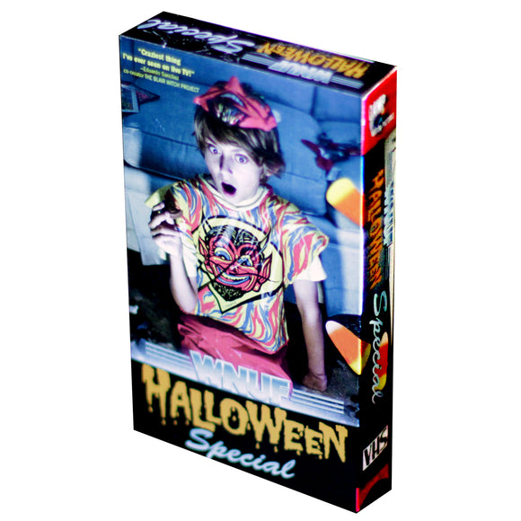 WNUF Halloween Special (Black Cassette Limited Edition VHS)
