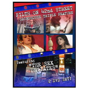Filth On 42nd Street Grindhouse Triple Feature (2-DVD)