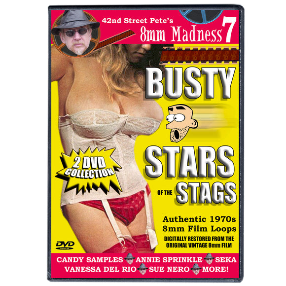 42nd Street Pete's 8mm Madness 7: Busty Stars (2-DVD)