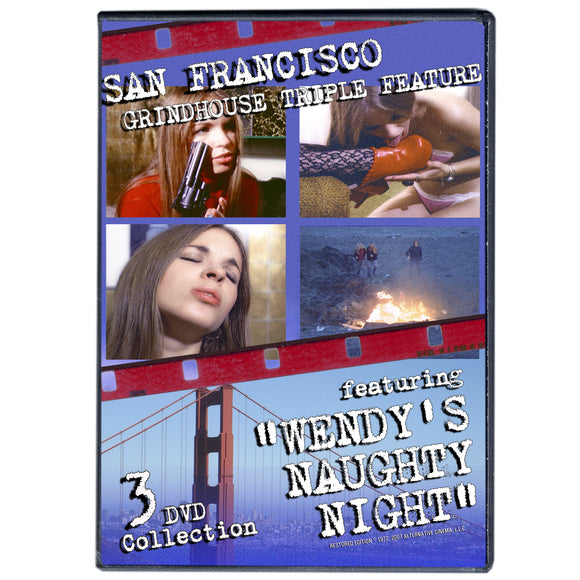 Wendy's Naughty Night Grindhouse Triple Feature (3-DVDs)