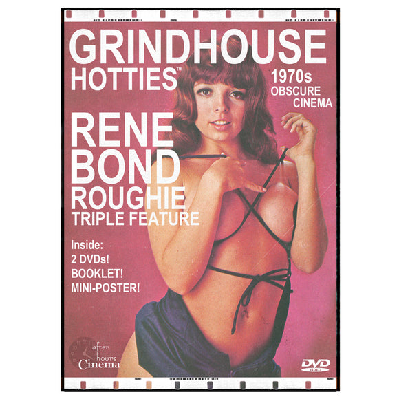 Grindhouse Hotties - Rene Bond Roughie (3 Films + Poster DVD)