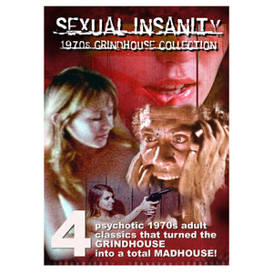 Sexual Insanity 1970s 4-Film Collection (2-DVD)