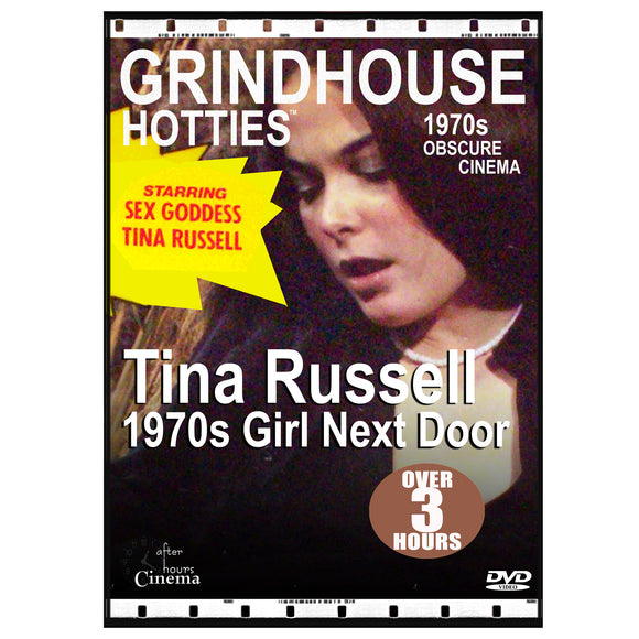 Grindhouse Hotties - Tina Russell 1970S Girl Next Door (DVD)
