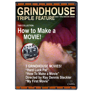 How To Make A Sex Movie Grindhouse Triple Feature (DVD)