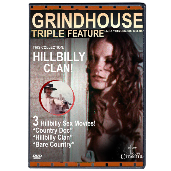 Hillbilly Sex Clan Grindhouse Triple Feature (DVD)