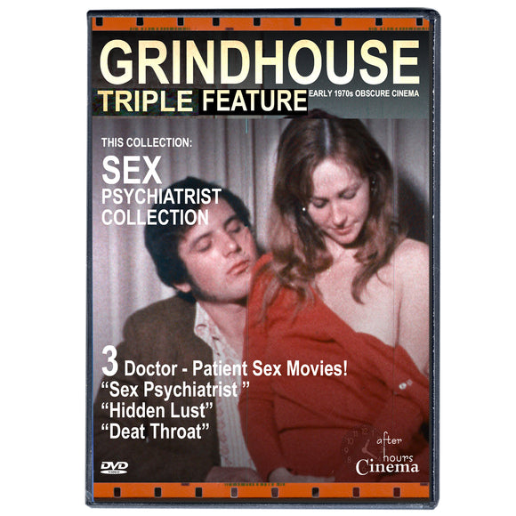 Sex Psyciatrist Grindhouse Triple Feature (DVD)