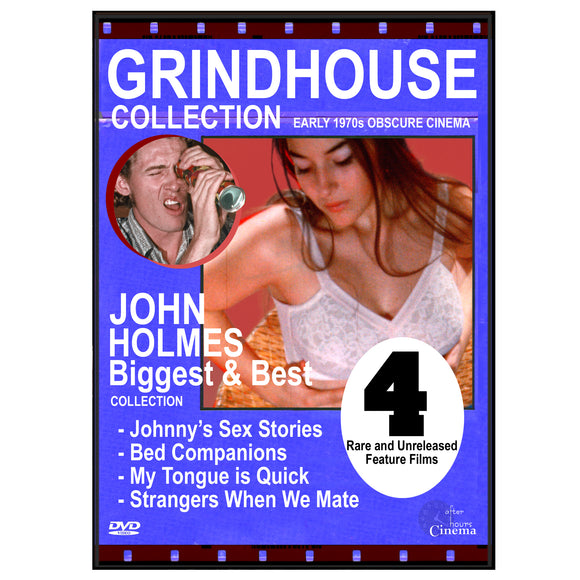 JOHN HOLMES - THE BIGGEST AND THE BEST 4-FILM COLLECTION (DVD)
