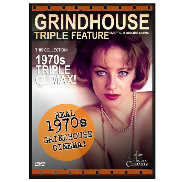 1970s Climax Grindhouse Triple Feature (DVD)