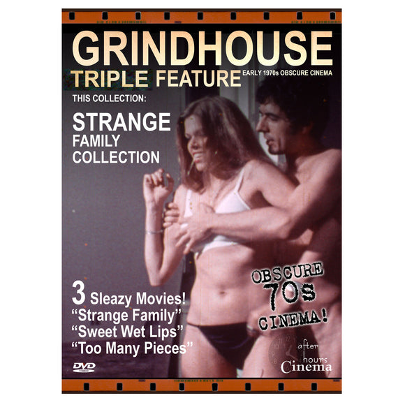 Strange Family Grindhouse Triple Feature (DVD)
