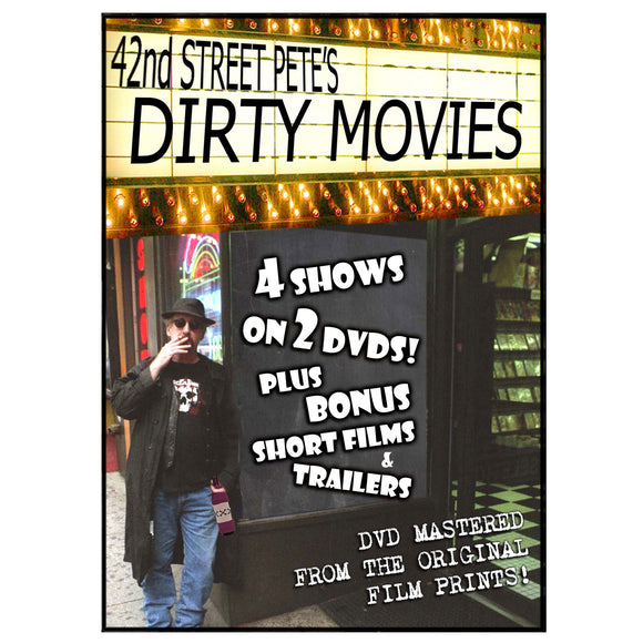 Dirty Movie Collection Presented by 42nd Street Pete (2-DVD)
