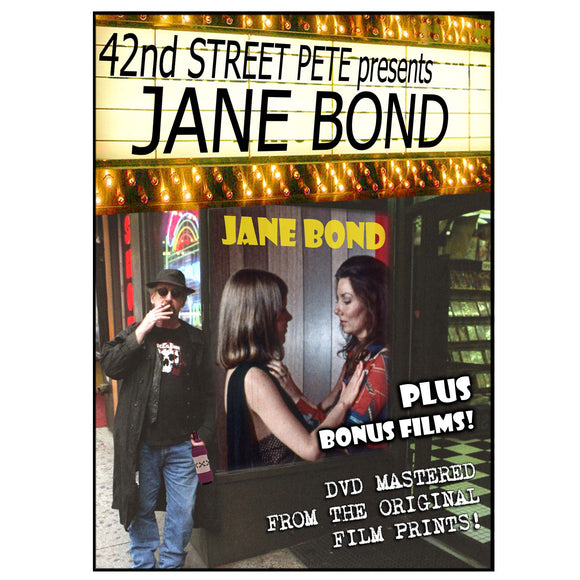 Jane Bond Double Feature Presented by 42nd Street Pete (DVD)