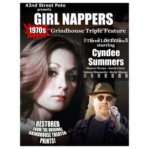 Girl Nappers Grindhouse Triple Feature Presented by 42nd Street Pete (DVD)