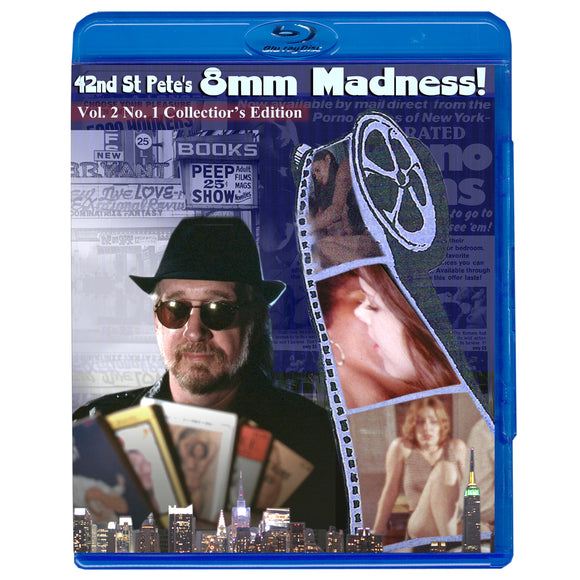 8mm Movie Loops - 42nd Street Pete's 8mm Madness Vol. 2 No. 1 (Blu-Ray)