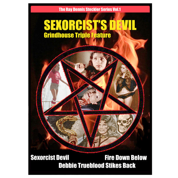 Sexorcist Devil Triple Feature (DVD)