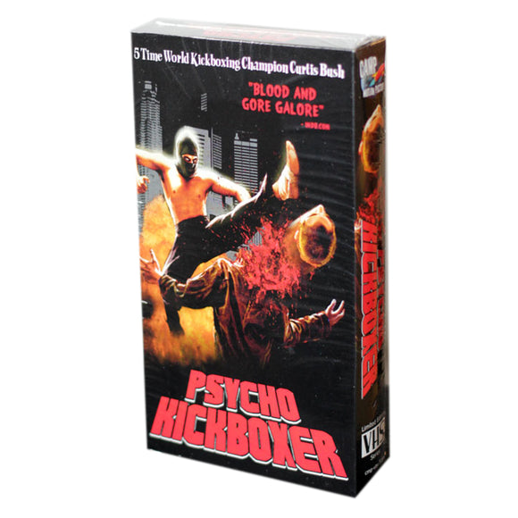 Psycho Kickboxer (Limited Edition VHS)