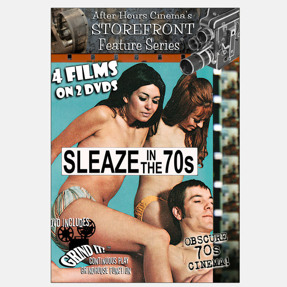 Sleaze in the 70s 4-Film Collection (2-DVD)