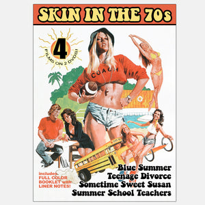 Skin in the 70s 4-Film Collection (2-DVD)
