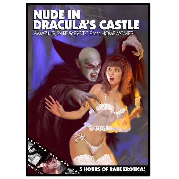 Nude in Dracula's Castle: Rare & Amazing 8mm Erotica (2-DVD)