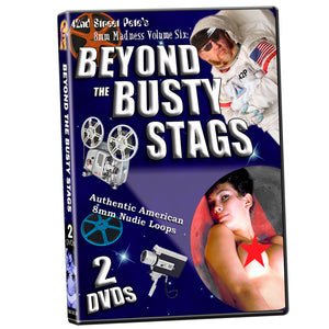 42nd Street Pete's 8mm Madness 8: Beyond Busty Stag Collection (2-DVD)
