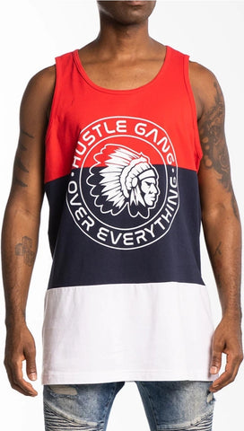 Hustle Gang Tri-Color Tank