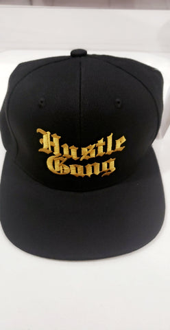 Hustle Gang Gold Hustle Cap