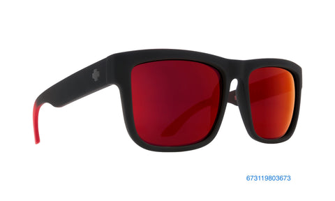 Spy Discord Soft Matte Black Red Fade