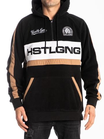 The hustle Gang GNG Polar Fleece Pullover Hoodie