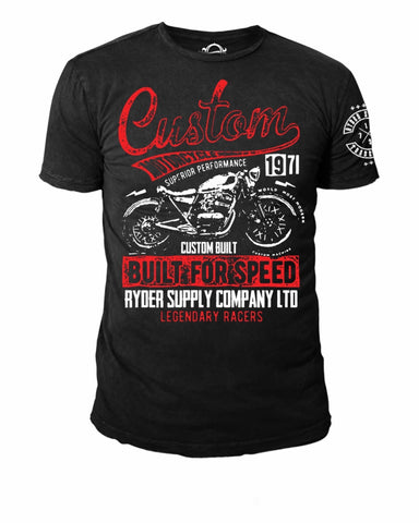 Ryder Supply Built for Speed tee
