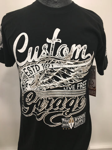 Ryder Supply Custom Garage tee