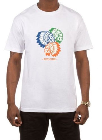 Hustle Gang Three Chief T-Shirt