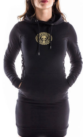 HeadRush Ring Ring Pullover Hoodie Dress