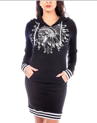 HeadRush The Neo Soul pullover Hoodie Dress
