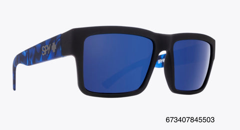 Spy Montana Soft Matte Black Navy Tort