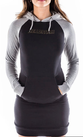 HeadRush I Like It Raglan Hoodie Dress