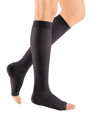 mediven sheer & soft, 15-20 mmHg, Calf High, Open Toe