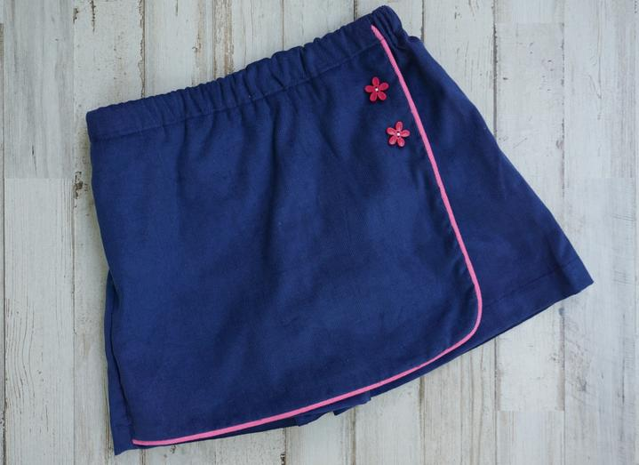 Gabby Two Button Skort