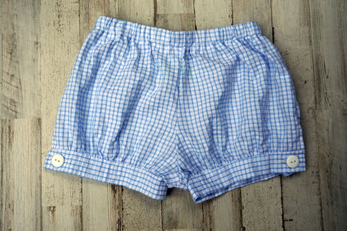 Jamie Unisex Banded Button Shorts