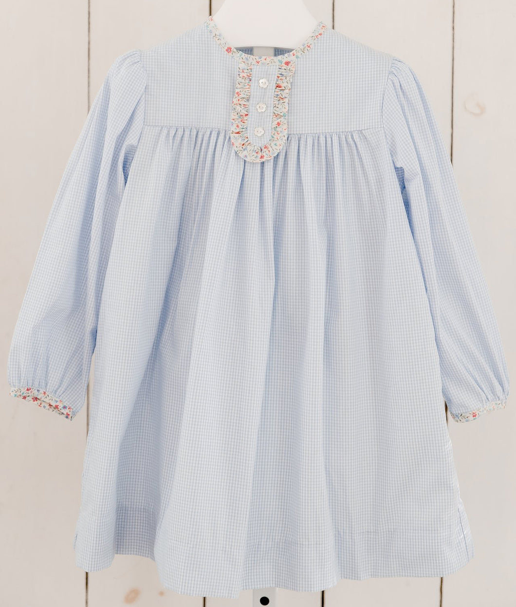Lovey Ruffled Placket Dress