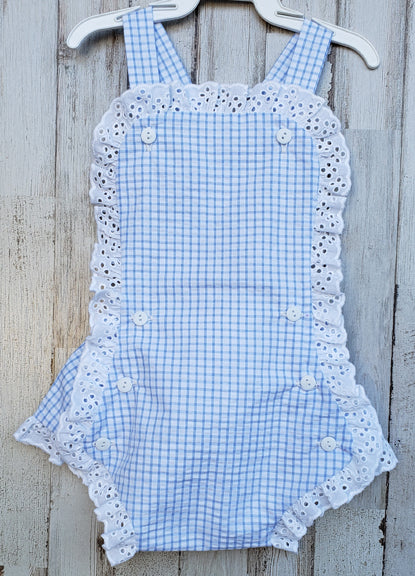 Riley Trimmed Sunsuit