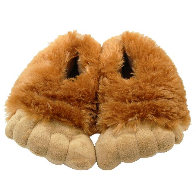 Youth Bigfoot Sasquatch Slippers