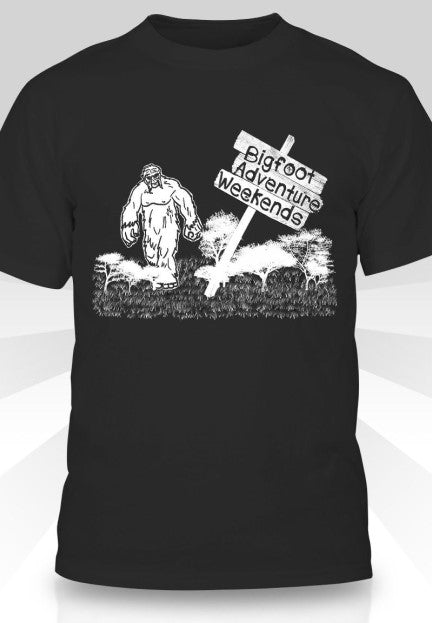 Bigfoot Adventure Weekends T-Shirt