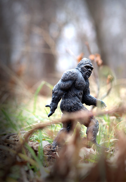 Hand Painted Bigfoot Figure