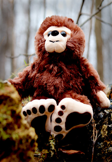 "8"" Plush Bigfoot"
