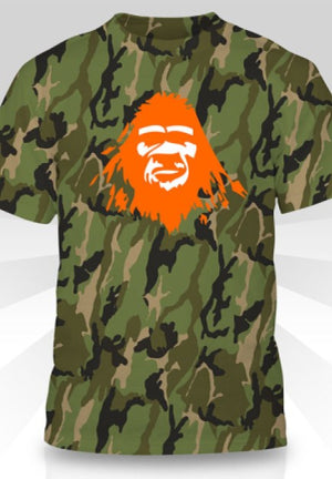 Sasquatch Bigfoot Camouflage Shirt